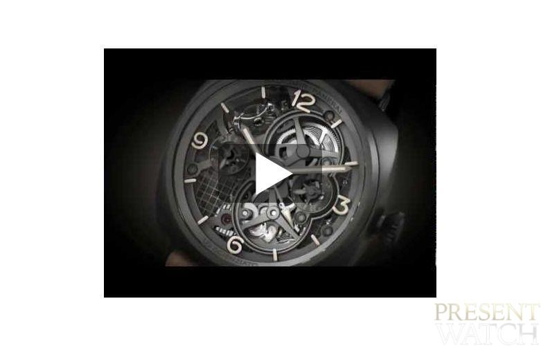 LO SCIENZIATO RADIOMIR TOURBILLON GMT