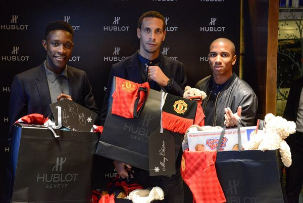 HUBLOT AND MANCHESTER UNITED